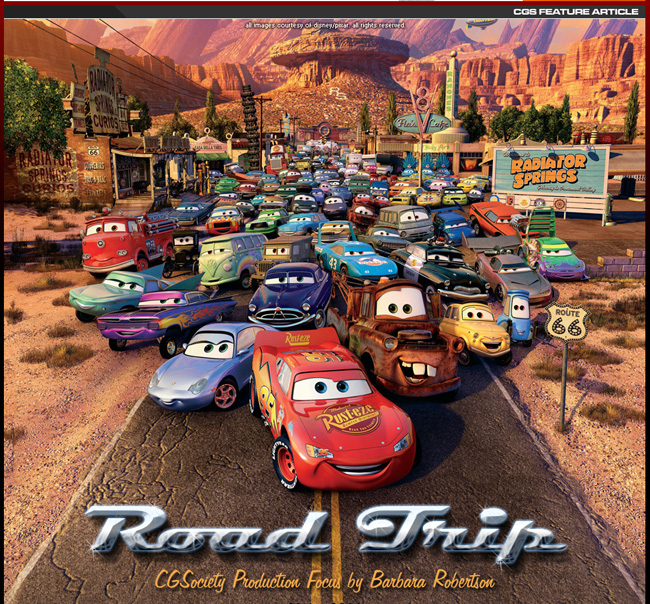 Disney/Pixar released Cars